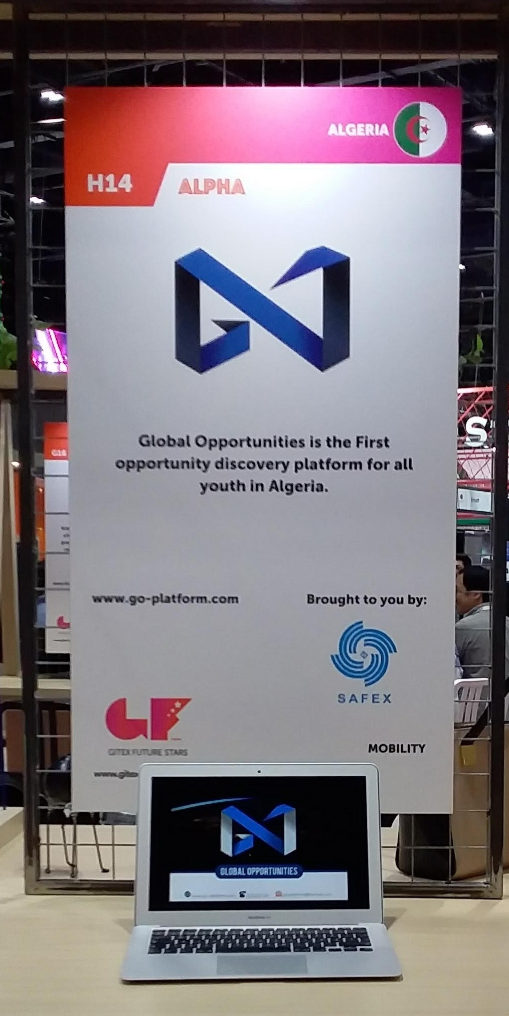 Global Opportunities'  new look, a wider network, more opportunities and easier access to knowledge for all Algerian youth